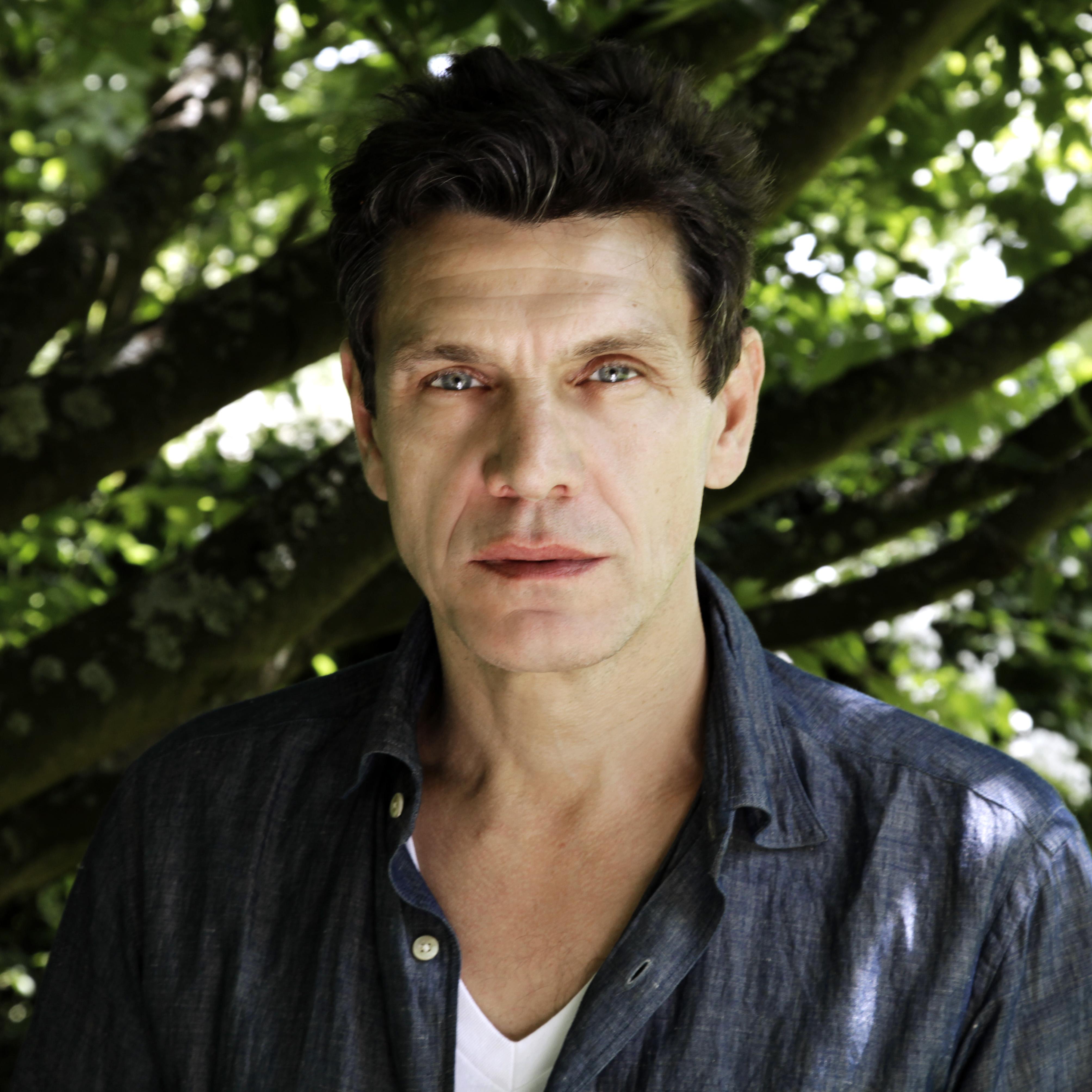 Marc Lavoine, pour le Salon Littéraire, juin 2015