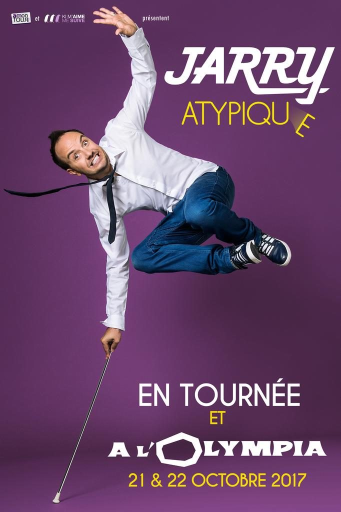 Jerry Atypique - Tournée Olympia